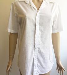 Bela košulja kratkih rukava