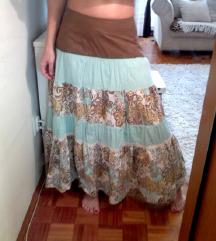 Vrhunska dugacka suknja markirana