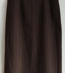 Unikat Duga suknja sa korset strukom