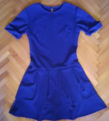 Kraljevski plava haljina