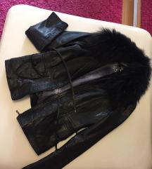 Kozna jakna s krznom