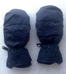 rukavice teget sa crnom kožom be S i 6,5 ZANIER