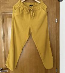 Zara lagane žute pantalone M
