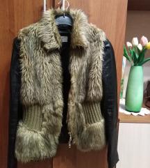 Prsluk i kozna jaknica