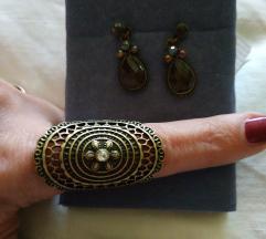 Minđuše i prsten