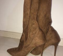 Braon duboke cizme