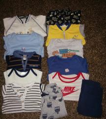 Nike, newbie, h&m set za bebu