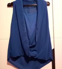 Kraljevsko plava majica, nikad nosena+poklon