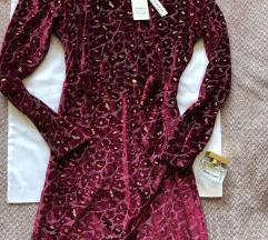 EMA MODA PARIS NOVA tamno crvena haljina M