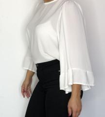 LUMINA bela bluza