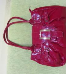 crvena  torba  kao nova