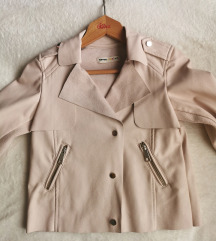 Koton jakna od prevrnuta kože