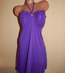 Ljubicasta haljina