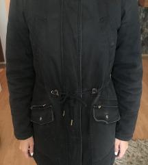 BLACK FRIDAY Crna jakna parka