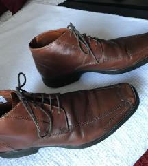 Kožne duboke muške cipele
