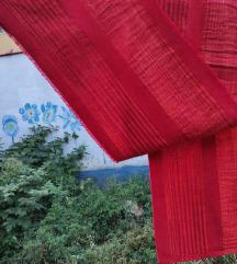 Indijsko tkano pamucno parce 215 x 40 cm