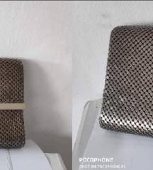 elegantna metalik pismo torbica