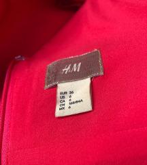 H&M GOLD kolekcija haljina SNIZENO
