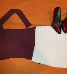 Dublja bela suknja