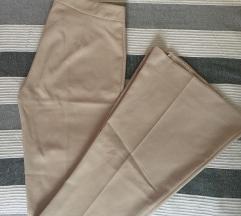 Elegantne pantalone - zvoncare - 40/L kao NOVO