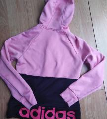 Adidas original duks crno rozi S