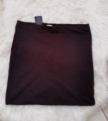 H&M crna suknjica sa elastinom kao nova s.m