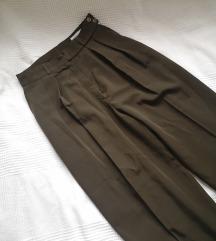 🍓 MODERN MEDIA maslinaste pantalone