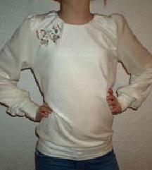 Plišana bluzica za devojčice