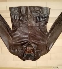 LEONI & SONS vrhunska zenska kozna jakna 38