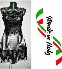 *** ITALY *** crno bela sa cipkom M