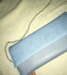 Plava pismo torba nosena jednom