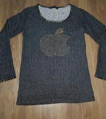 Crna duks-bluzica