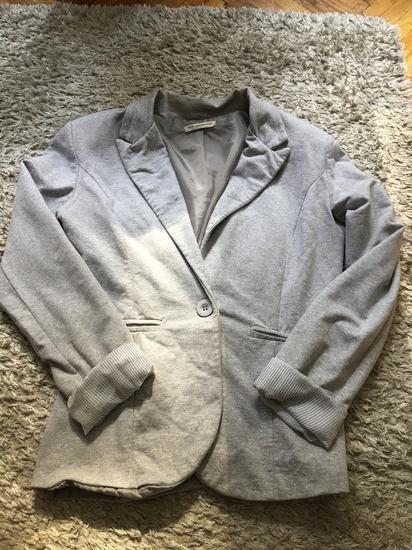 Sivi sako pamucni -snizen-