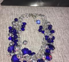 Ogrlica bizuterija i kristali