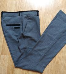 %%%H&M zenske sive pantalone 36