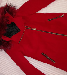 Nov kaput sa krznom iz butika
