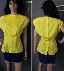 Vintage zuta bluza 80-te