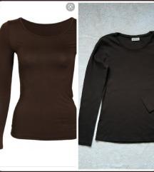 NOVA Street One tamno braon kvalitetna bluza
