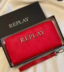 Replay crveni novcanik novo sa etiketom