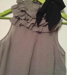 Ženska bluza KOTON - siva tufnasta