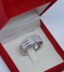 Prsten 925 16 mm i 16.5mm