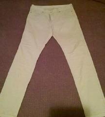 %Silvian Heach krem pantalone