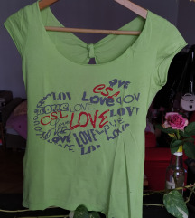 Neon majica otvorenih ledja