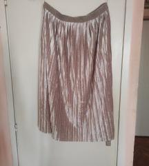 Plisana plisirana midi suknja