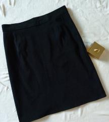 Basic plisana suknja visokog struka S/m
