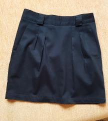 Kratka suknja sa faltama***NOVA