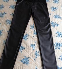 Kožne pantalone  42 vel.