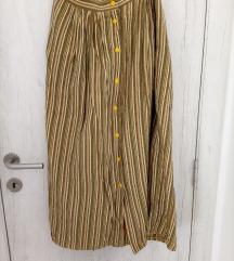 Vintage dugačka suknja