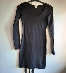 Crna haljina novo h&m