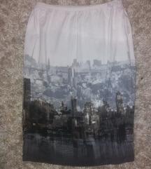 Katrin suknja dobokog struka